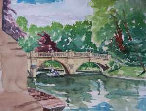Clare College Bridge