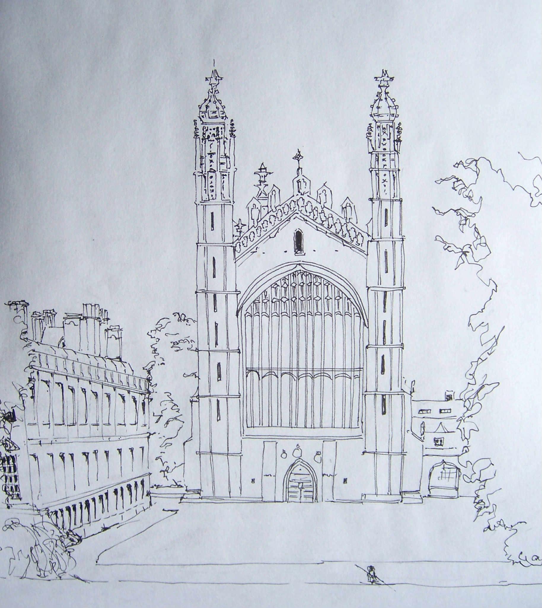 Cambridgeshire | Hugh\'s Sketchbook