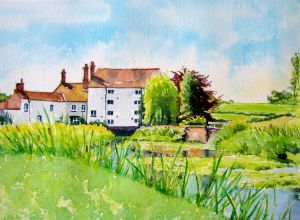 painting, watercolour