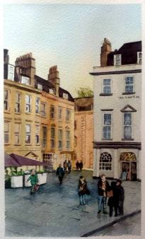 Painting of Bath