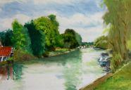 Thames at sunbury